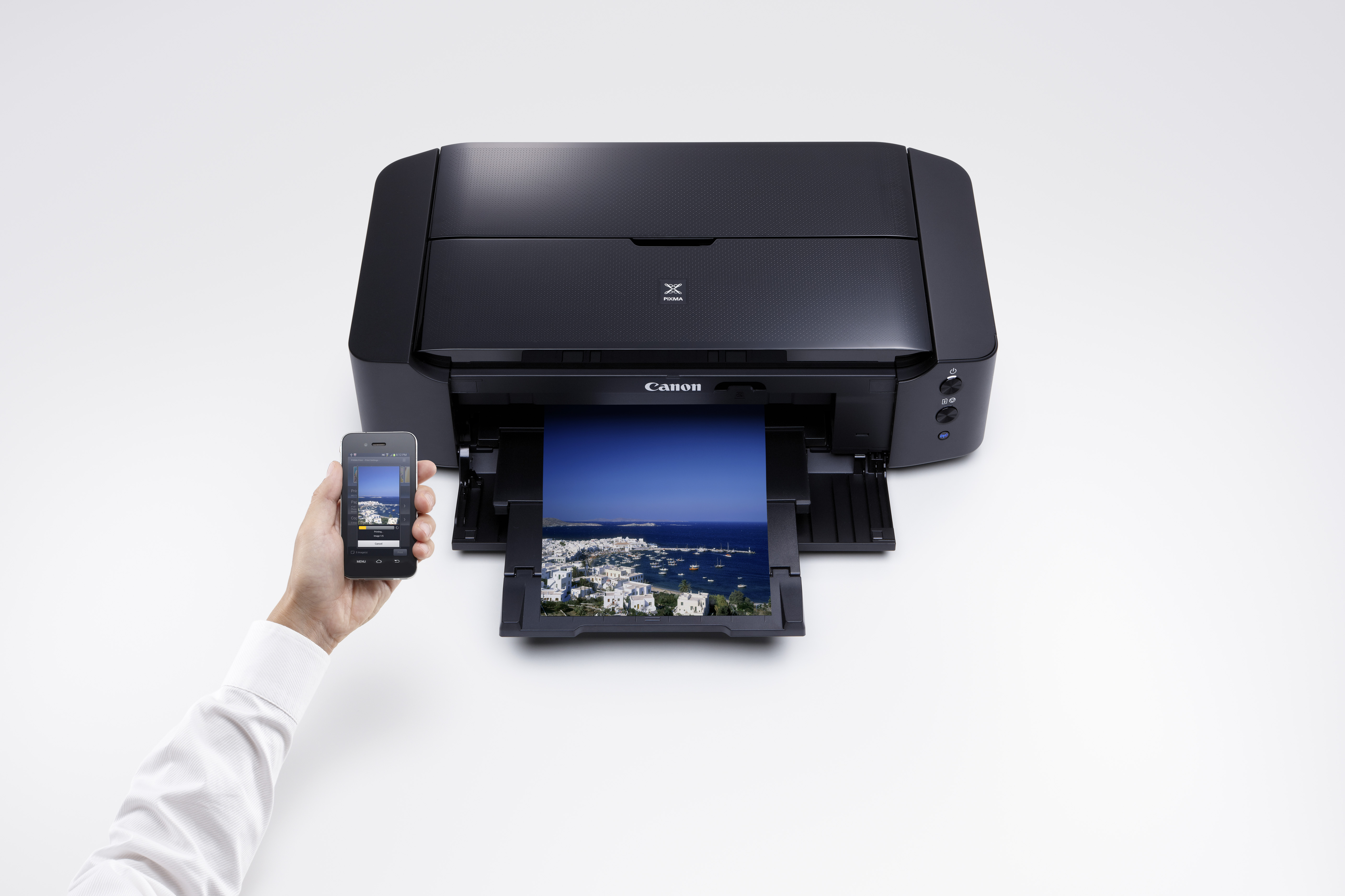 Smart print from your device