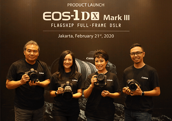 EOS 1D X Mark III, Kamera Flagship DSLR Full-frame dari Canon Hadir di Indonesia