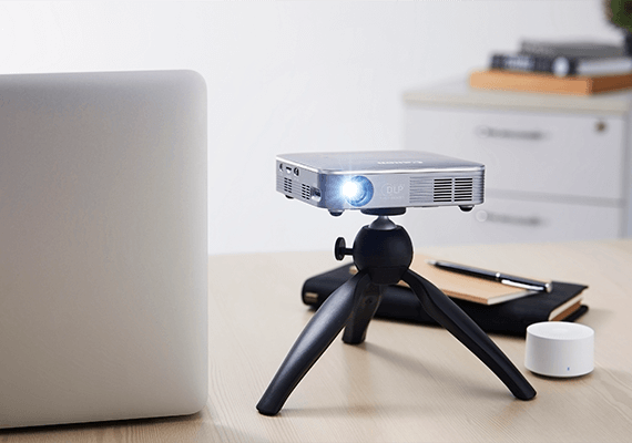 Compact & Lightweight Design with Built-in Rechargable Battery