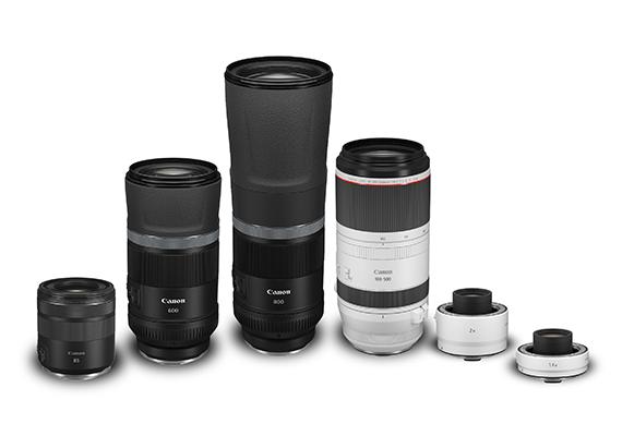 Canon Hadirkan 4 Lensa RF Terbaru Lengkapi Varian Lensa Kamera Mirrorless Full-frame EOS R System
