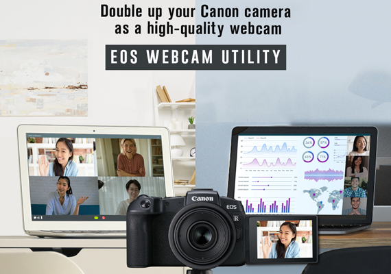 Canon Hadirkan Software EOS Webcam Utility Full Version Video Conference dengan Gambar Berkualitas Tinggi