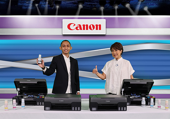Canon Hadirkan Printer PIXMA Ink Efficient G1020, G2020, G3020 & G3060