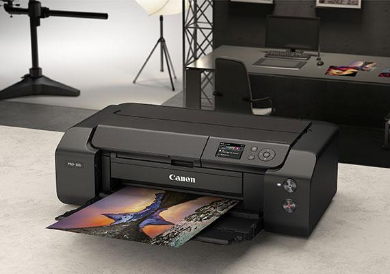 Canon ImagePROGRAF PRO-300 Printer Foto Profesional dengan Sistem Tinta 10 Warna